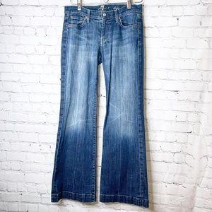 7FAM | Dojo Flare Seven Back Pocket Jeans
